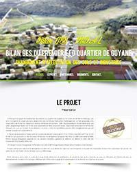 Bilan GES du premier Eco Quartier de Guyane - Volet changement d