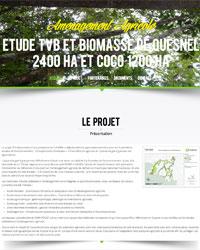 Etude TVB et Biomasse de Quesnel 2400 ha et Coco 1200 ha